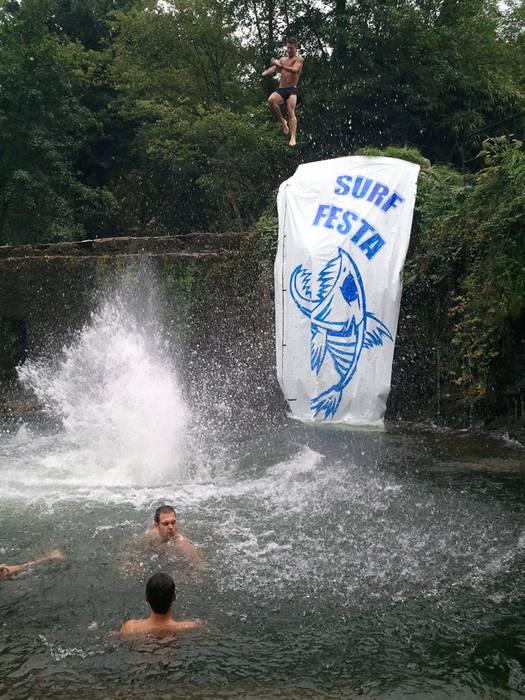 Peta Barrel dator Oñatiko aurtengo Surf festara, taulak nola egin azaltzera