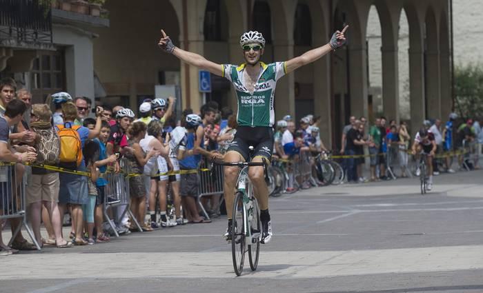 Diego Rubiok irabazi du Antzuolako lasterketa