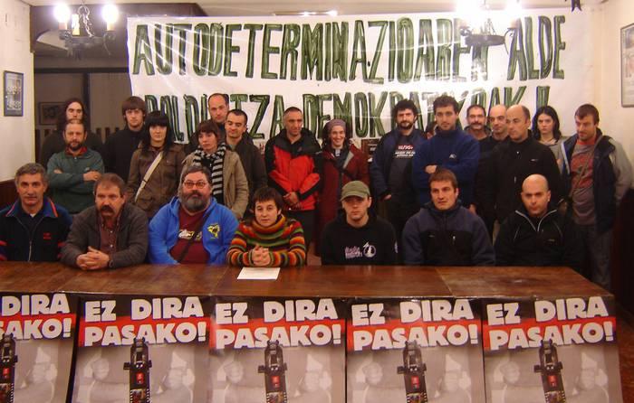 Abenduaren 20a mobilizazio eguna deitu du Debagoieneko Askatasunak