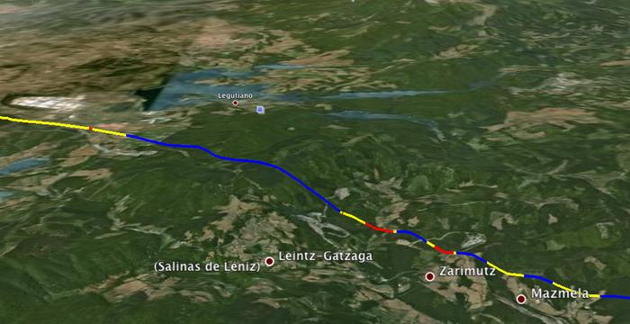 AHT: Legutio eta Eskoriatza arteko Albertiako tunela zulatzen hasi dira