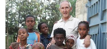 Etiopiako umeen alde Arrasaten