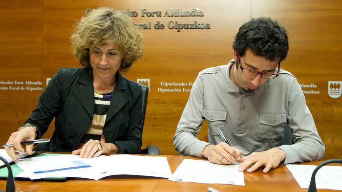 Antzuola eta Elgetako udalek bat egin dute Aldundiaren Kudeatuz programarekin