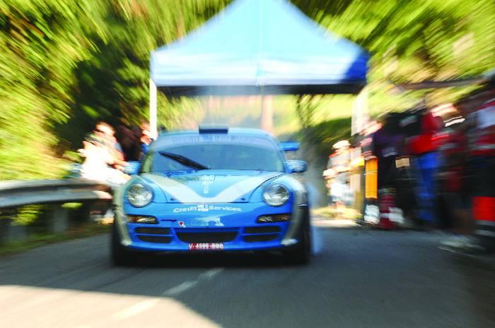 Apalantzak irabazi zuen Aramaioko VII. Rallysprinta