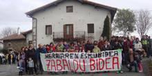 Aramaioarrek protesta ibilaldia egingo dute domekan