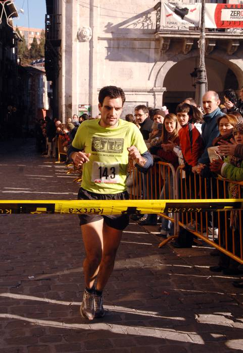Aritz Kortabarriak irabazi zuen krosa, eta Trikimasak, bildotsa