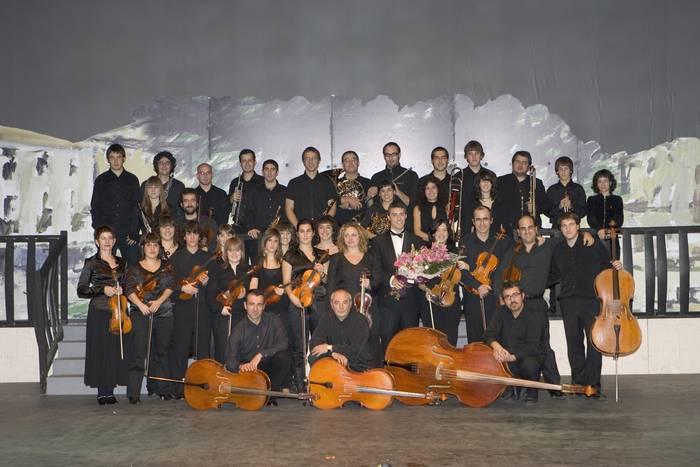 Arrasate Musikalek orkestra sinfonikoa aurkeztuko du bihar