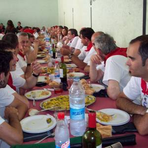 Arrasateko gaitariak San Ferminetan 2011