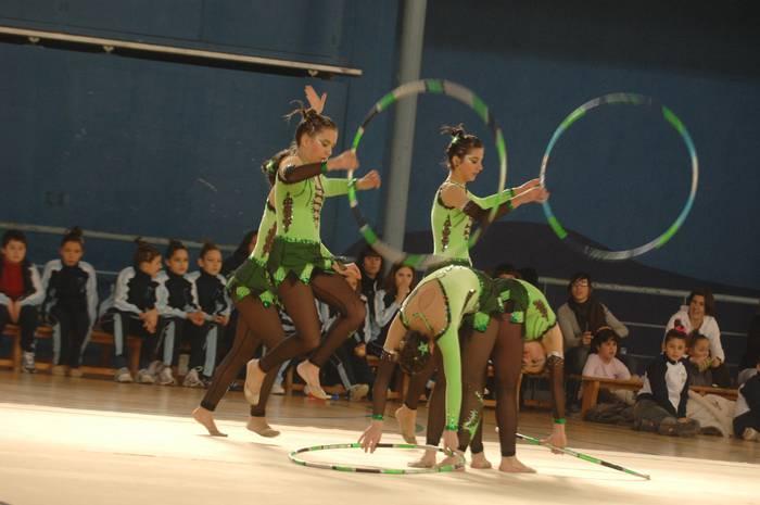 Arrasateko gimnastak, pozik denboraldiko lehen emaitzekin