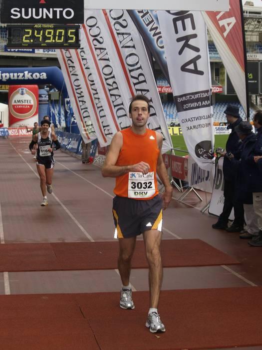 Asier Urdanpilleta eta Lorea Biain, ibarreko azkarrenak Donostiako maratoian