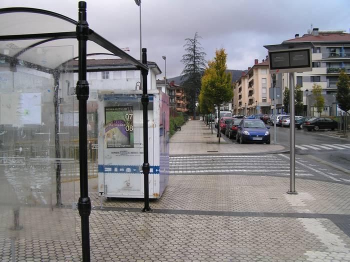 Autobus geltokia guztiz bukatuta egongo da laster