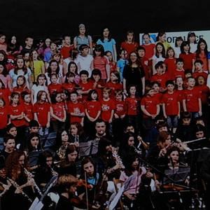 Bergarako musika eskolak kurtso amaierako emanaldia 2012