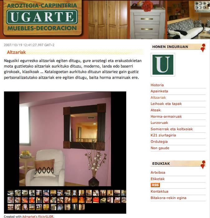 Bloga plazaratu du Bergarako Ugarte aroztegiak
