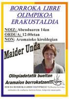 Borroka libre olinpikoaren erakustaldia egingo du Undak
