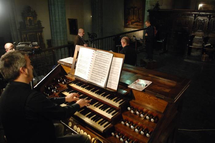 Datorren urtean ez da Bergarako San Pedro parrokian egingo organo zikloa