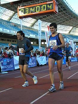 Debagoienekoak ere izan ziren Donostiako maratoian