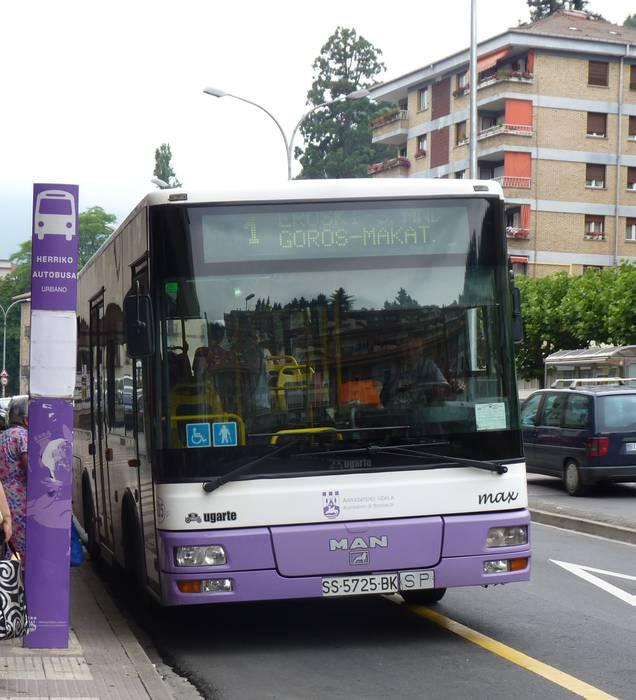 Domu Santurako autobus zerbitzu bereziak