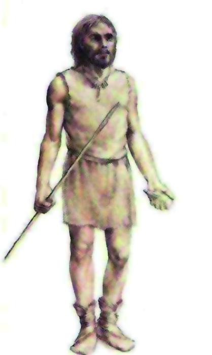 Duela 45.000 urteko Cro-Magnongo gizakiak zeuden Labeko koban