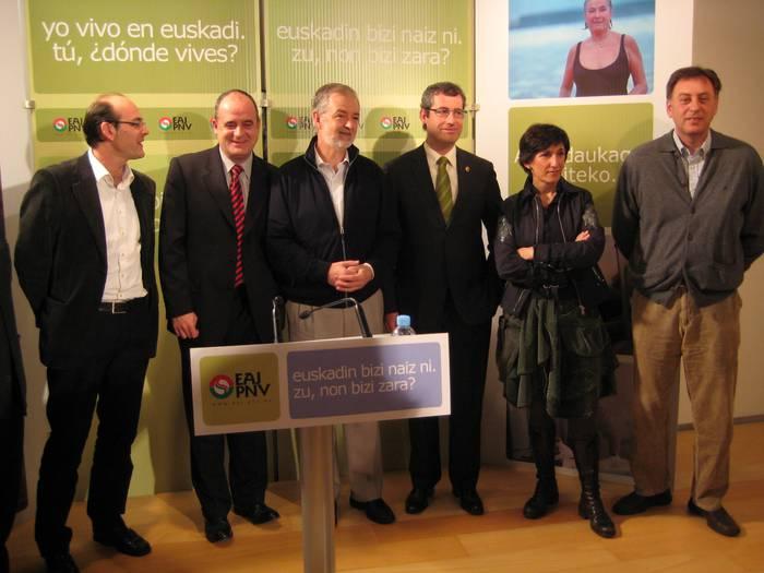Madrilen euskaldunen interesak defendatzen dituen alderdi bakarra EAJ dela esan du Jose Ramon Belokik