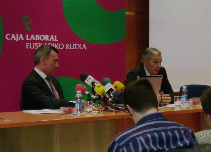 Euskadiko Kutxak 2007ko txosten ekonomiko eta soziala aurkeztu du