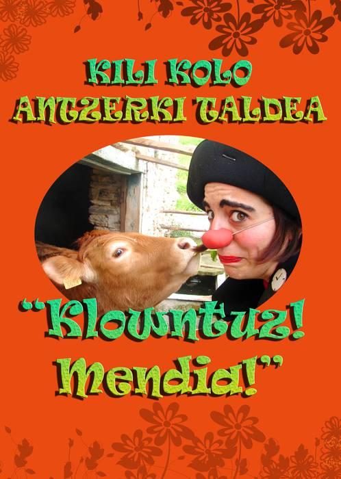 Euskararen Egunaren harira 'Klowntuz mendia!' antzezlana, barikuan