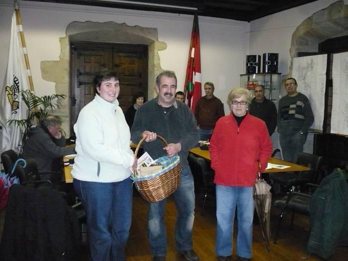Eva Maria Ramirezek irabazi du Gabonetako zozketako saria