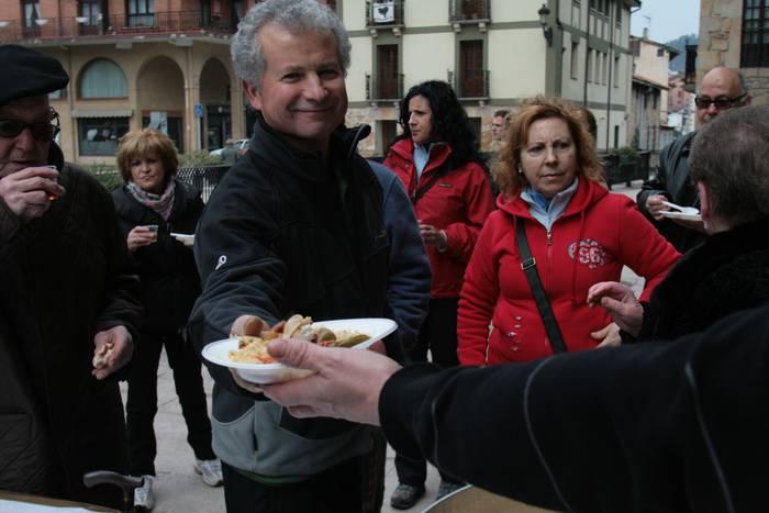 Extremadurako ogi-mamiek eta erroskilek arrakasta izan dute gaur Antzuolan