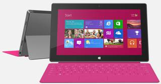 Microsoften tableta, Surface, otsailaren 14tik aurrera eskuragarri