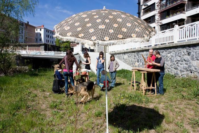 Ferrerias kaleko 'Putzu plaza' inauguratuko dute gaur