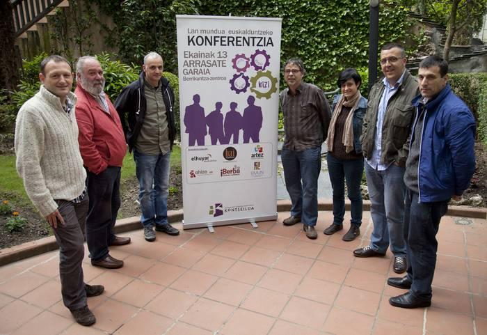 Lan mundua euskalduntzeari buruzko kongresua egingo du Kontseiluak ekainean Arrasaten