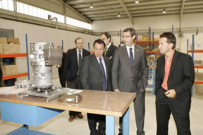 Galdara eraginkorren fabrika inauguratu du Mondragonek