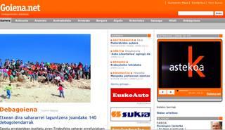 GOITBko albisteak Goiena.net-en