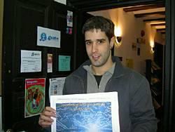 Gorka Martinezek  jaso du 'Gomendatzen dizut' saria