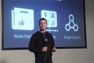 Graph Search aurkeztu du Facebook-ek, erabiltzaileen arteko informazioa are gehiago gurutzatzeko