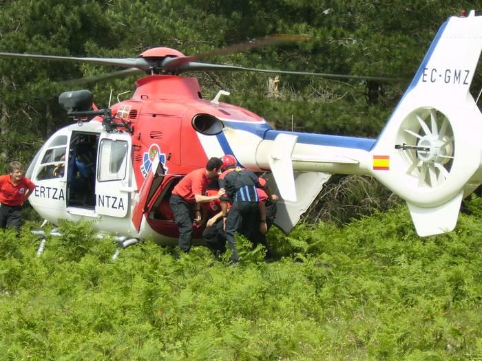 Helikoptero istripuan hildakoak Murtzia eta Las Palmasekoak ziren