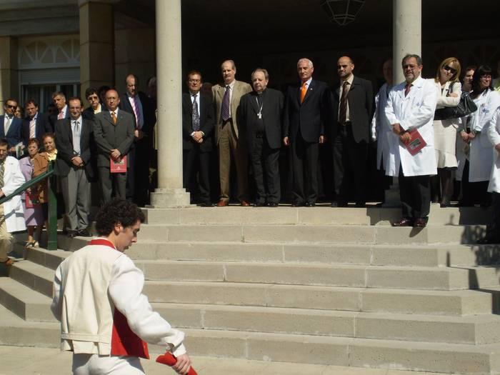 Inaugurazio ekitaldia San Juan de Dios ospitalean