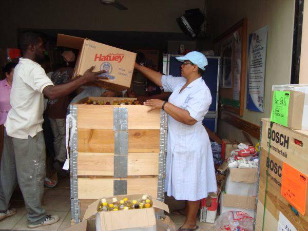 Iritsi dira Gipuzkoatik Haitira bidalitako laguntzak