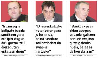 """""""Bankuek iruzur egin izan baligute bezala sentitzen gara"""""""