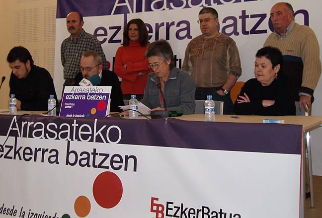 Joseba Ugalde Zutik-Ezker Batua koalizioaren alkategai