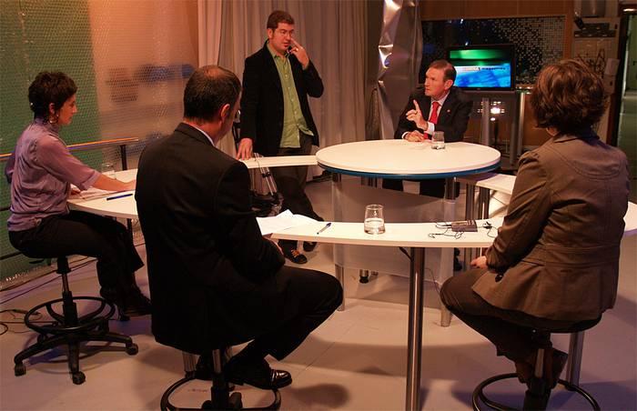 Juan Jose Ibarretxe lehendakariari elkarrizketa GOITBn