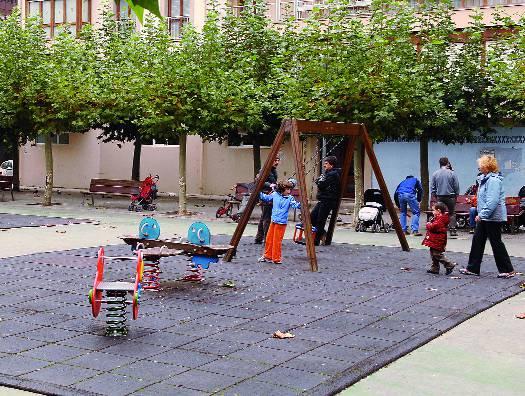 Konpondu egingo dute Gernika plaza