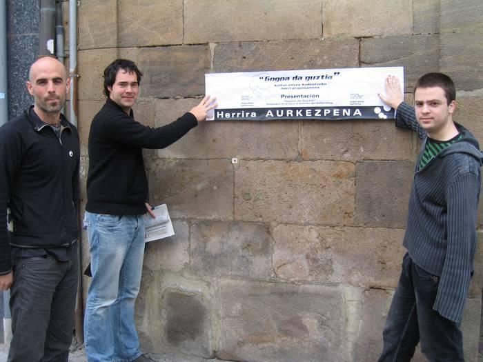 Kulturarako eraikina kudeatzeko proiektua aurkeztu du herritar talde batek