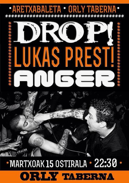 Drop + Lukas Prest + Anger