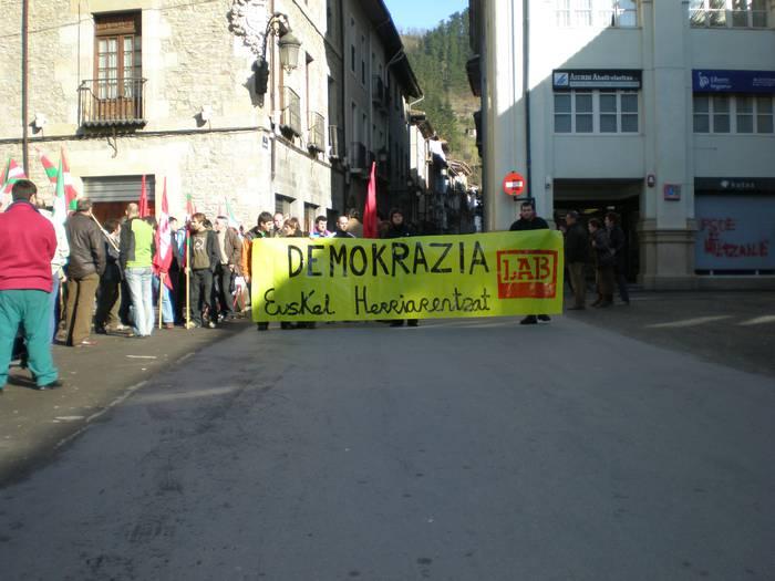 LAB sindikatuak asanblada egin du gaur Bergaran