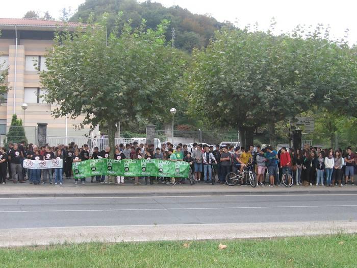Protesta eguna hezkuntzan