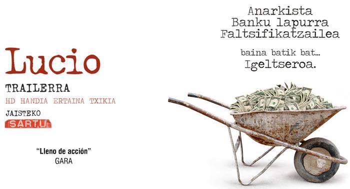 'Lucio' dokumentala saritu dute Bolonian