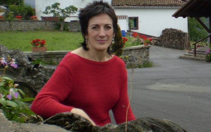 Maite Aristegi gaur 'Goiena magazinea'-n
