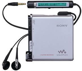 MiniDisc walkmanak fabrikatzeari utziko dio Sonyk