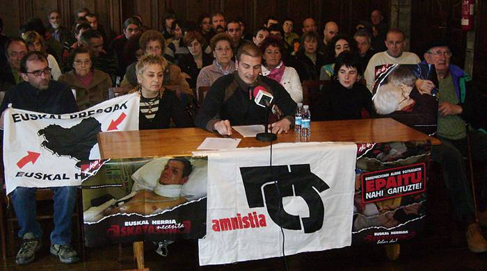 Mobilizazioak deitu ditu ibarrean Amnistiaren Aldeko Mugimenduak