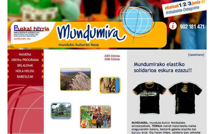 Mundumira 2007: Graffiti lehiaketa