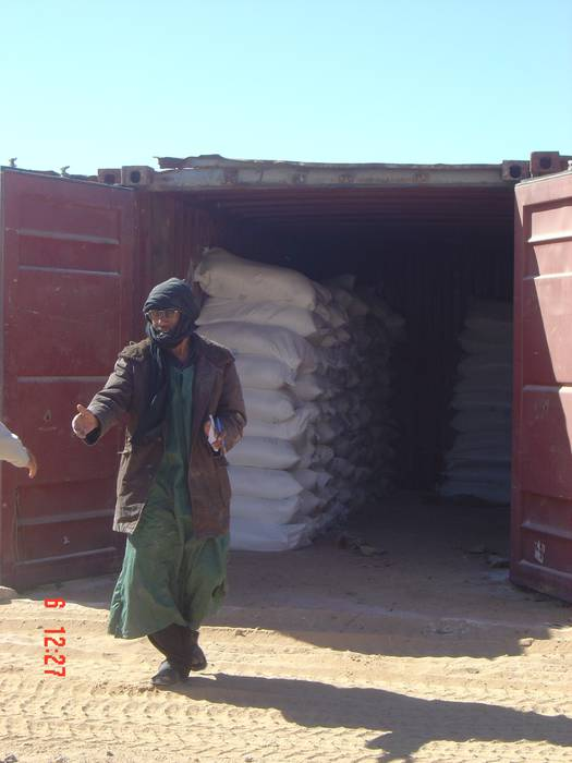 NUBI elkarteak Sahararen aldeko janari bilketa egingo du